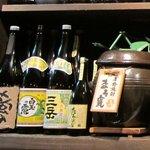 KushiyakiBar我が家 - 魔王のメーカー・白玉酒造の「白玉の露」