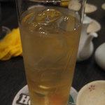4308492 - 杏露酒ソーダー割だったかな・・・?