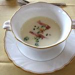 きた山 - かぼちゃスープ