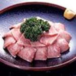 味の牛たん 喜助 - 季節限定・牛たん刺し