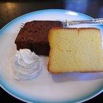 白馬亭 - ブランデーケーキ2種