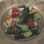 北○ すすきの店 - シャキシャキ旬菜の7品目サラダR¥680