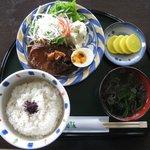 トゥルース - 料理写真:ハンバーグセット(ランチ)