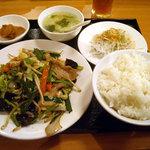哈爾濱  - 「五目野菜炒め」700円