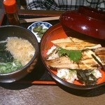 一張羅 - 姫路穴子二色丼セット