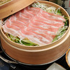 琉球豚ロースの蒸篭蒸