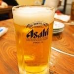 いわし舟 - 生ビール