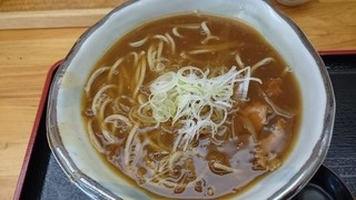 器庵 - カレー蕎麦