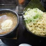 43148735 - 15.10 つけ麺・味噌(780円)+ネギトッピング(100円)