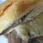 バックハウス・イリエ   - チョコクリームパン、アップ!