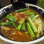 麺場 浜虎 - 秋刀魚のサンマーメン