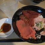 若狭家 - ネギトロ漬けマグロ明太子丼  ¥870→¥500-