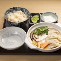 和味餃子 - スープ餃子定食 1080円(税込) ご飯大盛りサービス