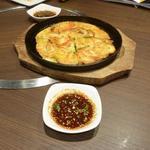 宙 SORA 韓国家庭料理&焼肉 - 海鮮チジミ