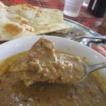 パラカス - 挽肉とカレーが絡んで美味しいキーマカレーに仕上がってます。