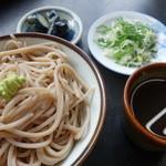 力そば - 料理写真:もりそば(¥400税込み)