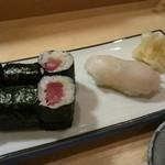 いずみ田 - 鉄火&白身