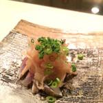 濤﨑 - ランチの先付け(秋刀魚)