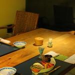 蔵群 - 夕食は個室で
