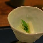 蔵群 - 長芋の山葵ヅケ でも洋風