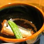 蔵群 - 秋刀魚山椒煮 これで御飯を、ということでした