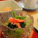 蔵群 - 蟹の載ったサラダも添えて