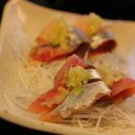 鮨金 - 秋刀魚と鰊