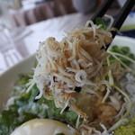 浜名湖近鉄レストラン - しらすはこんな感じ