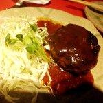 艶食 月島屋 - 馬肉バーグ
