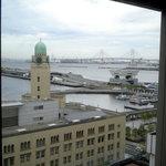 シーガル - 店内からはクイーンの塔や大桟橋、ベイブリッジなどが見えます