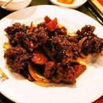 桂園 香港酒家 - 黒酢鶏肉