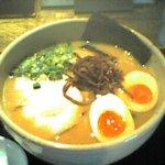 432741 - 鶏白湯ラーメン+煮玉子