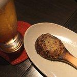 手打ち蕎麦 銀杏 - 焼き味噌