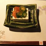 手打ち蕎麦 銀杏 - チーズ豆腐