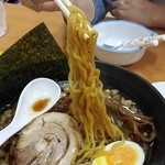 らーめん優月 - 麺