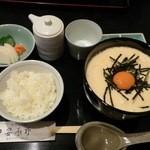 43201824 - 山かけ蕎麦 御飯(漬物付)