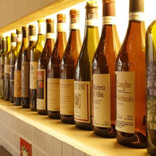 ワインは定番から変わり種まで…