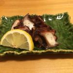 鮨 さるたひこ - 蛸の桜煮