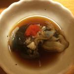 鮨 さるたひこ - アワビの肝