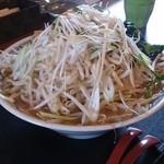 43206138 - 魚介醤油ラーメン(大盛り)