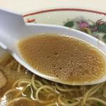 めじろ - スープはもちろん広島ラーメン!豚骨醤油です❤️