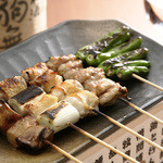 鶏Dining&Bar Goto - 料理写真:厳選炭火焼き