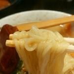 かぶら - あんかけラーメン 麺は中細麺
