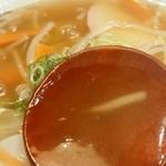 かぶら - あんかけラーメン スープはトローリ