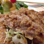 コション - 中は挽肉