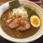 札幌鮭ラーメン麺匠 赤松 - 「超濃厚 THE 鮭DORO」880円
