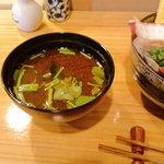 ひがしやま - 赤出汁