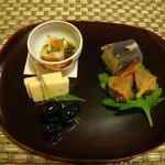 鮎正 - 前菜