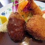 浅井食堂 - お料理アップ