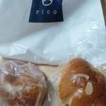 池下ベーカリー rico - クリームパン